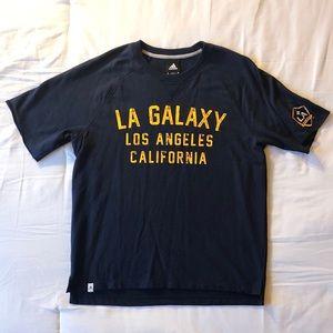 Adidas LA Galaxy sweatshirt tee - size L